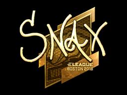 Snax | Boston 2018
