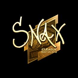 Snax (Gold) | Boston 2018