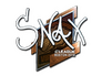 Skin Sticker | Snax (Foil) | Boston 2018