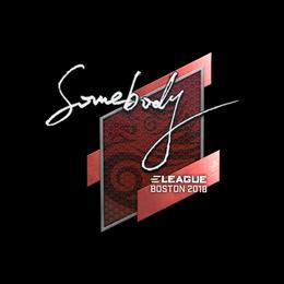somebody | Boston 2018
