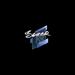 Sticker   SIXER   Boston 2018