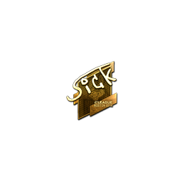 Sticker | SicK (Gold) | Boston 2018