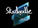 Sticker | Skadoodle (Foil) | Boston 2018