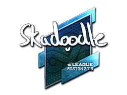 Sticker | Skadoodle (Foil) | Boston 2018