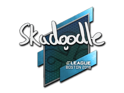 Sticker | Skadoodle | Boston 2018