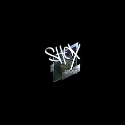 Sticker | shox (Foil) | Boston 2018