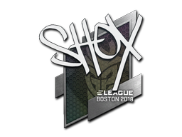Sticker | shox | Boston 2018