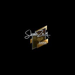 Sticker   ShahZaM (Foil)   Boston 2018