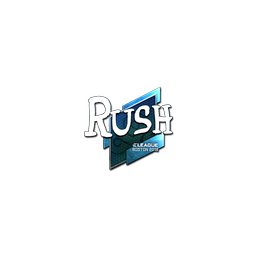 Sticker | RUSH (Foil) | Boston 2018