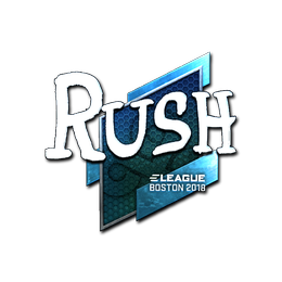 RUSH (Foil) | Boston 2018
