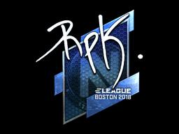 RpK | Boston 2018