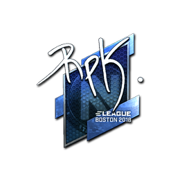 RpK (Foil) | Boston 2018