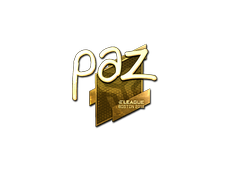 Skin Sticker | paz (Gold) | Boston 2018