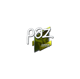 Sticker | paz (Foil) | Boston 2018