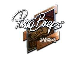 Sticker | pashaBiceps (Foil) | Boston 2018