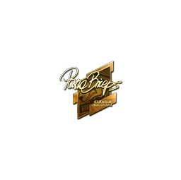 Sticker | pashaBiceps (Gold) | Boston 2018