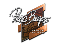 Sticker | pashaBiceps | Boston 2018