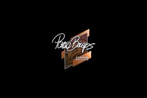 Sticker Pashabiceps Boston 2018