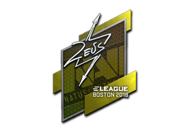 Sticker | Zeus | Boston 2018