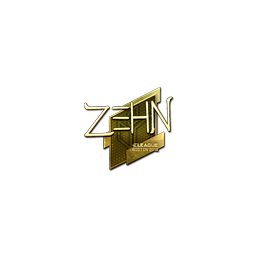 Sticker | zehN (Gold) | Boston 2018