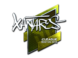 Sticker | XANTARES (Foil) | Boston 2018