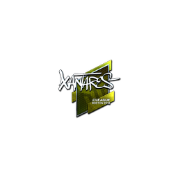 Sticker | XANTARES (Foil) | Boston 2018