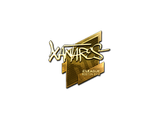 Skin Sticker | XANTARES (Gold) | Boston 2018