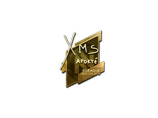 Skin Sticker | xms (Gold) | Boston 2018