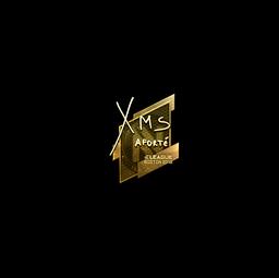 Sticker   xms (Gold)   Boston 2018