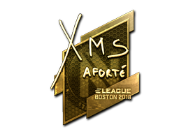 Sticker | xms (Gold) | Boston 2018