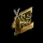 Sticker | xms (Gold) | Boston 2018
