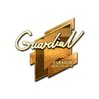 Sticker | GuardiaN (Gold) | Boston 2018
