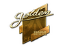 Skin Sticker | Golden (Gold) | Boston 2018