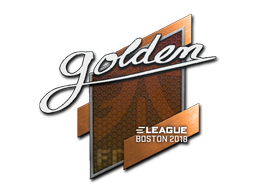 Sticker | Golden | Boston 2018