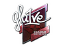 Skin Sticker | gla1ve (Foil) | Boston 2018
