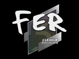 Sticker | fer | Boston 2018
