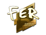 Skin Sticker | fer (Gold) | Boston 2018