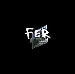 Sticker | fer (Foil) | Boston 2018