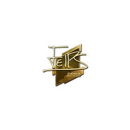 Sticker | felps (Gold) | Boston 2018