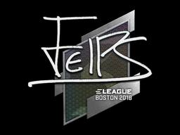Sticker | felps | Boston 2018