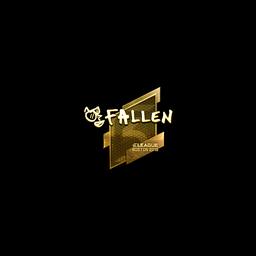 Sticker | FalleN (Gold) | Boston 2018