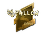 Skin Sticker | FalleN (Gold) | Boston 2018