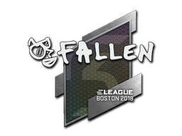 Sticker | FalleN | Boston 2018