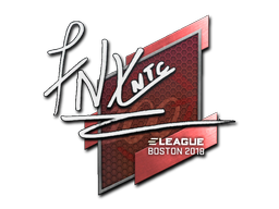 Sticker | fnx | Boston 2018