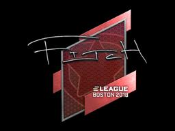Sticker | fitch | Boston 2018