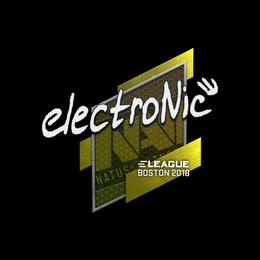 electronic | Boston 2018