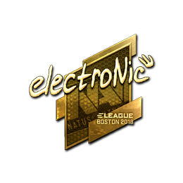 electronic (Gold) | Boston 2018