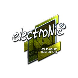electronic (Foil) | Boston 2018