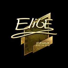 EliGE (Gold) | Boston 2018