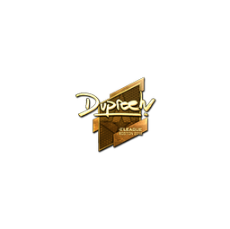 Sticker | dupreeh (Gold) | Boston 2018